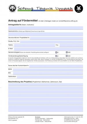 Antrag-Formular-Bild