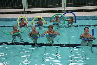 Teutonia-Wassergymnastik